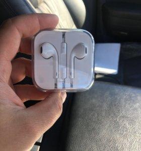 Наушники Apple EarPods 3.5 jack (Новые)
