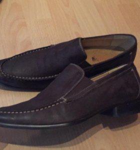Мужские туфли, натуральная кожа