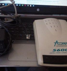Модем ACORP 56000