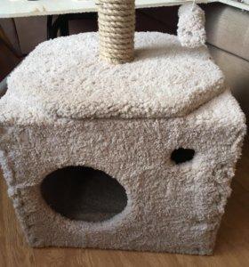 Когтеточка домик для кошки