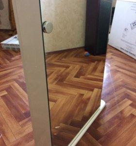 Шкаф в ванную комнату зеркальный