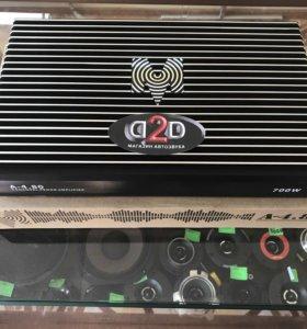 Новый 4-ех канальный усилитель momo 4.80