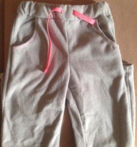 Флисовые брюки поддева 110-116р