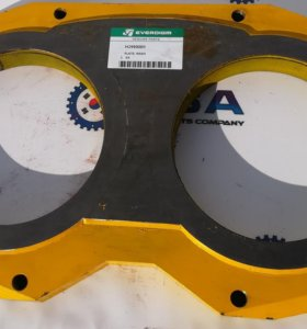 Шиберная плита (230 мм) для бетононасосов
