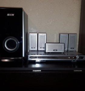 Комплект акустики с DVD