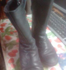 Зимняя обувь из настоящей кожи
