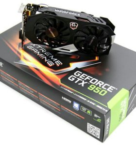 Видеокарта GTX 950 Xtreme Gaming 2gb