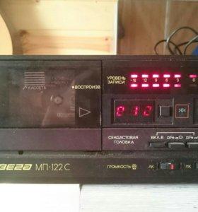 Дека кассетная Вега 122 с