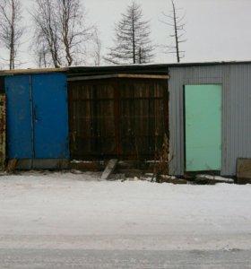 Ворота гараж под снегохд
