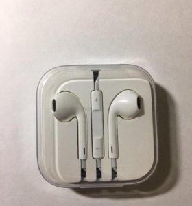Наушники от iPhone новые