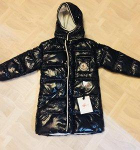 Новое зимнее пальто moncler