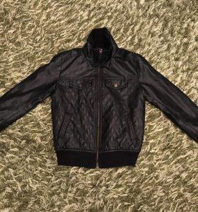 Куртка кожаная для мальчика
