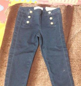 джинсы на девочку новые