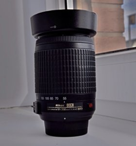 Объектив Nikon DX AF-S 55-200 f4-5.6G