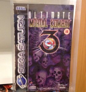 Mortal kombat 3 Ultimate Sega Saturn PAL