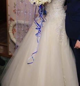 Свадебное платье ( прокат)