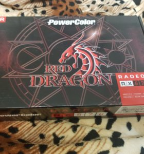 Видеокарта Powercolor Red Dragon RX 570 4gb