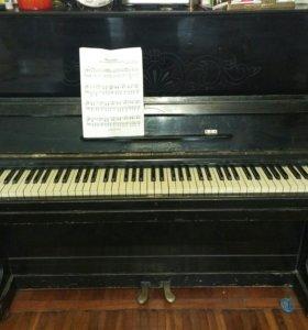 Фортепиано пианино Красный Октябрь