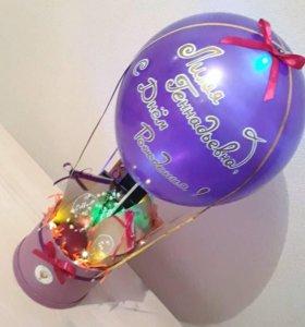 Кофейно-чайный подарочный набор Воздушный букет