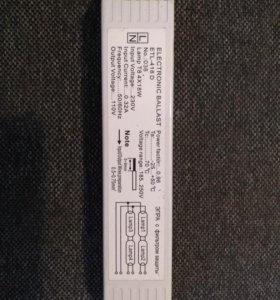 Электронный баласт д/ ламп Т8 18 w