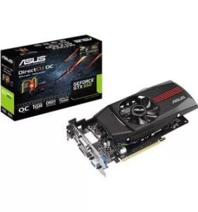 Видеокарта ASUS GeForce GTX 650