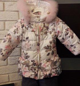 Зимний комплект на девочку CHOUPETTE.