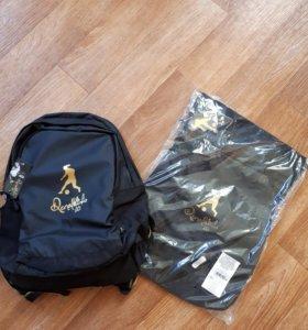 Спортивный рюкзак+спортивный мешок