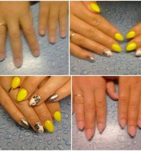 Наращивание ногтей/ укрепление