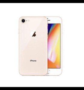 Айфон 8, розовое золото