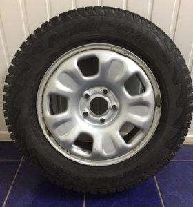 Зимние колёса на Рено Дастер
