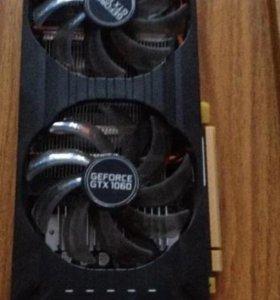Видеокарта geforce 1060 6Гб DDR5 palit