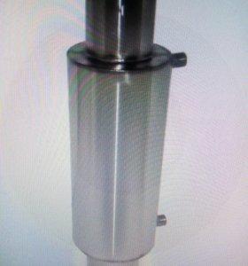 Теплообменник для банной печи 115мм новый в упаков