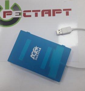 Внешний бокс для HDD USB 2.5 (Ноутбучный)