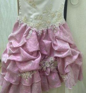 Платье для принцессы 6-7 лет