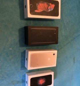 Коробки от iPhone, цена за все четыре. Оригинал !