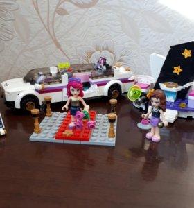 Конструктор LEGO Friends Поп звезда: лимузин.