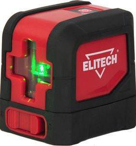 Лазерный нивелир Elitech ЛН 3К-зел
