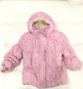 Курточка на девочку «этти детти»