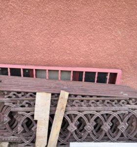 Литая чугунная ограда