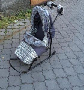 Санки-коляски