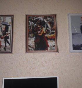 Продам 3 картины
