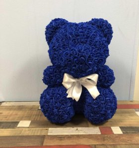 Синий мишка