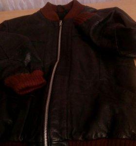 Куртка для мальчика нат кожа