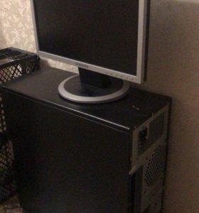 Монитор , корпус системного  блока.