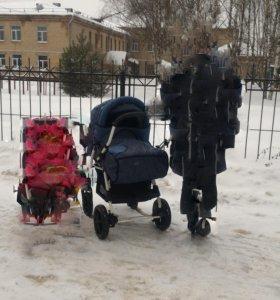 детская коляска (трансформер)