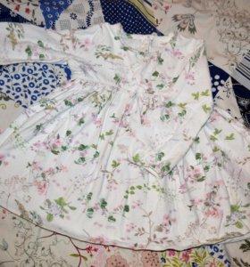 Платье Next на 6 месяцев
