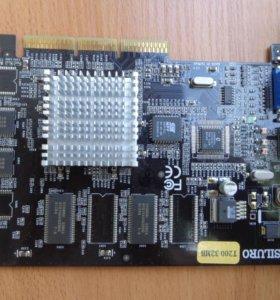 Видеокарта Siluro T200 32Mb