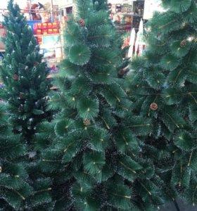 елка искусственая от (60 см до 300см)