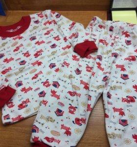 Новая пижамы на 1-2 года