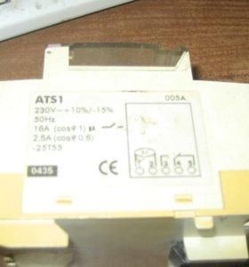 Реле Времени суточное электромеханическое АВВ ATS1